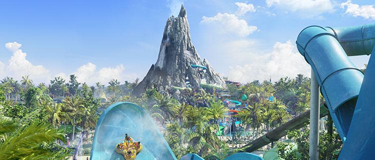 Volcano Bay il nuovo parco acquatico degli Universal Orlando Resort a Orlando in Florida